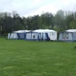 Het kampeerveld